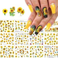 nailartaufkleber, adesivosdenailart, nail stickers, Flowers