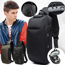 Shoulder Bags, menwaterproofchestbag, antitheftchestbagformen, antitheftchestbag