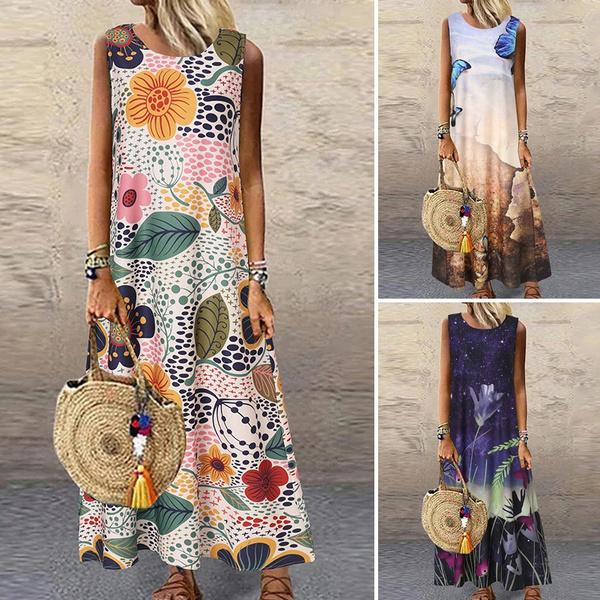 Summer, dressesforwomen, sundress, long dress