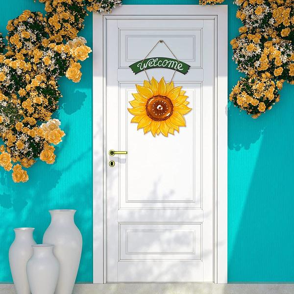 Summer, Decor, Outdoor, Door