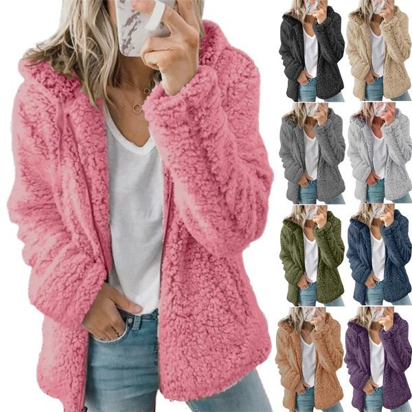 warm coat, hooded, Winter, sweater coat