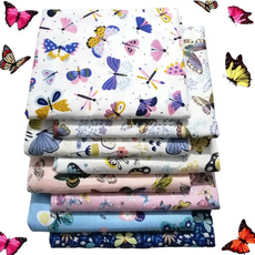 butterfly, Cotton fabric, Cotton, sewing fabric
