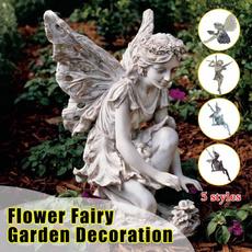 fairystatue, Beautiful, Outdoor, butterflyfairystatue
