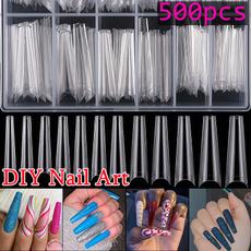case, ballerinanail, acrylic nails, nail tips