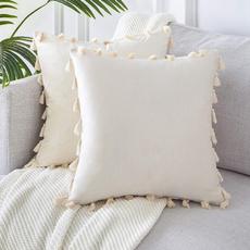 decorativethrowpillowcover, Cover, homedecordecorationsforsofacouch, Pillowcases