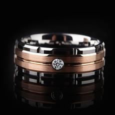 Steel, 8MM, Fashion, wedding ring