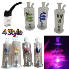 ledhookahpipe, led, tobacco, Glass