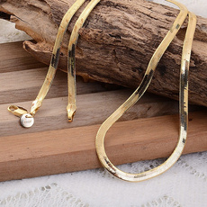 yellow gold, goldplated, 18k gold, Chain