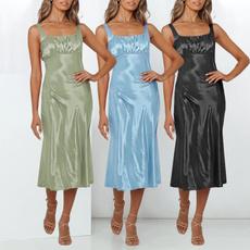 Summer, summer dress, vest dress, strapsdres