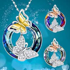butterfly, Sterling, butterflynecklace, sterling silver