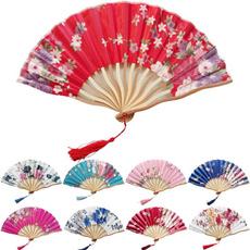 foldingfan, dancefan, bamboofan, Flowers