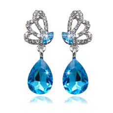 White Gold, Gemstone Earrings, gold, emeraldearring