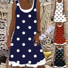 Summer, Plus Size, Dress, Women's Fashion