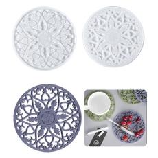 coastermold, Flowers, Coasters, Home Decor