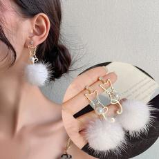 cute, Hoop Earring, Dangle Earring, Jewelry
