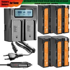 Batteries, Battery, charger, sonybatterylcdcharger