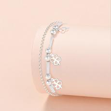 Clover, Star, Jewelry, Chain