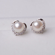 DIAMOND, Jewelry, Crystal Jewelry, Stud Earring