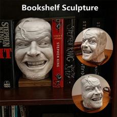 creativebookshelfsculpture, bookshelfsculpture, libraryjohnnysculpture, bookend