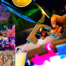 champagneopener, winebottlestopper, beergun, winesprayer