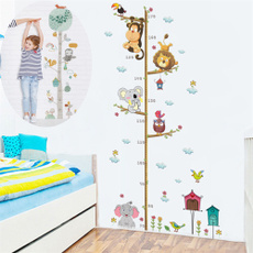 monkey, Home Decor, heightwallsticker, kidsroomsticker