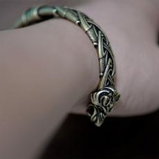 viking, Head, Men Cufflinks, Jewelry