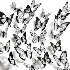 butterfly, PVC wall stickers, Decor, Home & Office