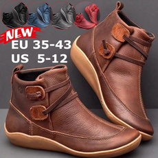 casual shoes, Plus Size, Waterproof, Ankle