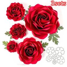 Card, Decor, Flowers, Handmade