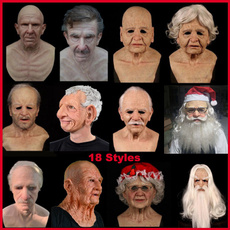 wig, latex, beardmask, Cosplay