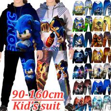 kidshoodieset, sonic, Fashion, kids clothes