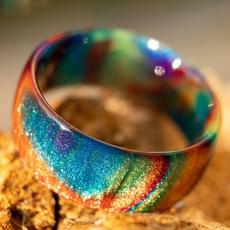 rainbow, Fashion, wedding ring, Gifts