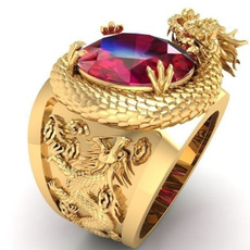 DIAMOND, gold, 18k gold ring, punk rings