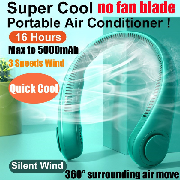 fanscooling, air conditioner, neckfan, usb