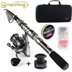 spinningreel, carbonspinningfishingrod, Bags, fishingrodsampreel