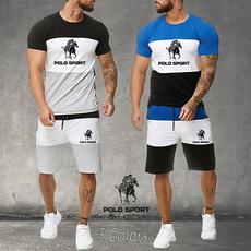 Mens T Shirt, athleticshort, fashionset, Sleeve