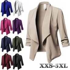 Plus Size, Fashion, Blazer, Sleeve