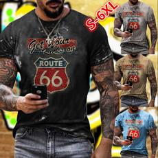 Mens T Shirt, Printed T Shirts, Sleeve, mens tops