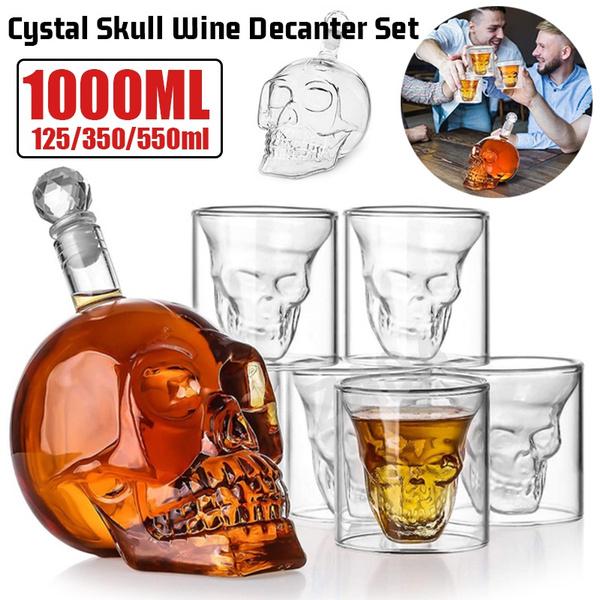 decantersforalchohol, Collectibles, vodka, skull