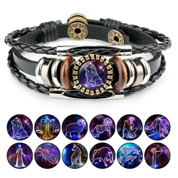 Charm Bracelet, Fashion, Jewelry, 12constellation