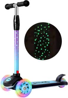 led, kids, kidsscooter, lights