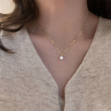 Necklace, DIAMOND, Jewelry, Gifts