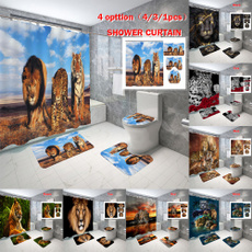 Leopard, decoration, Bathroom, bathroomdecor