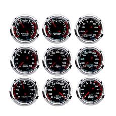 tachometer, oilpressuresender, voltgauge, water