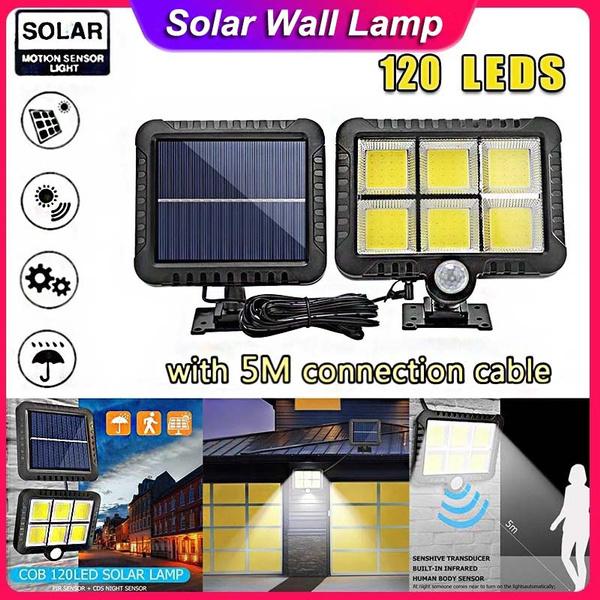 gardendecorationlamp, led, Garden, solarpoweredwalllight