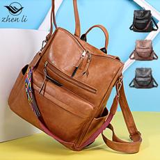 largecapacityhandbag, Shoulder Bags, womensleatherbag, Fashion