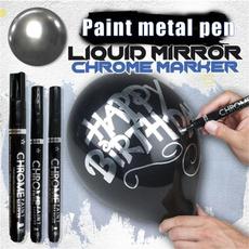 mirrorpen, mirrorreflectivemarkerpen, chrome, reflectivepaintmetalpen