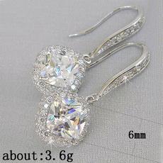Fashion, Princess, Gemstone Earrings, wedding earrings