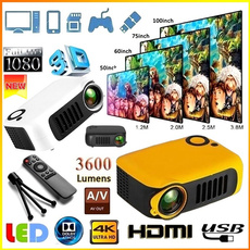Hdmi, cinemamediaplayer, portableprojector, projectionmachine