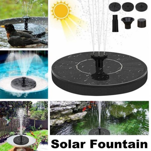 waterfountainsolar, Tank, Garden, fish